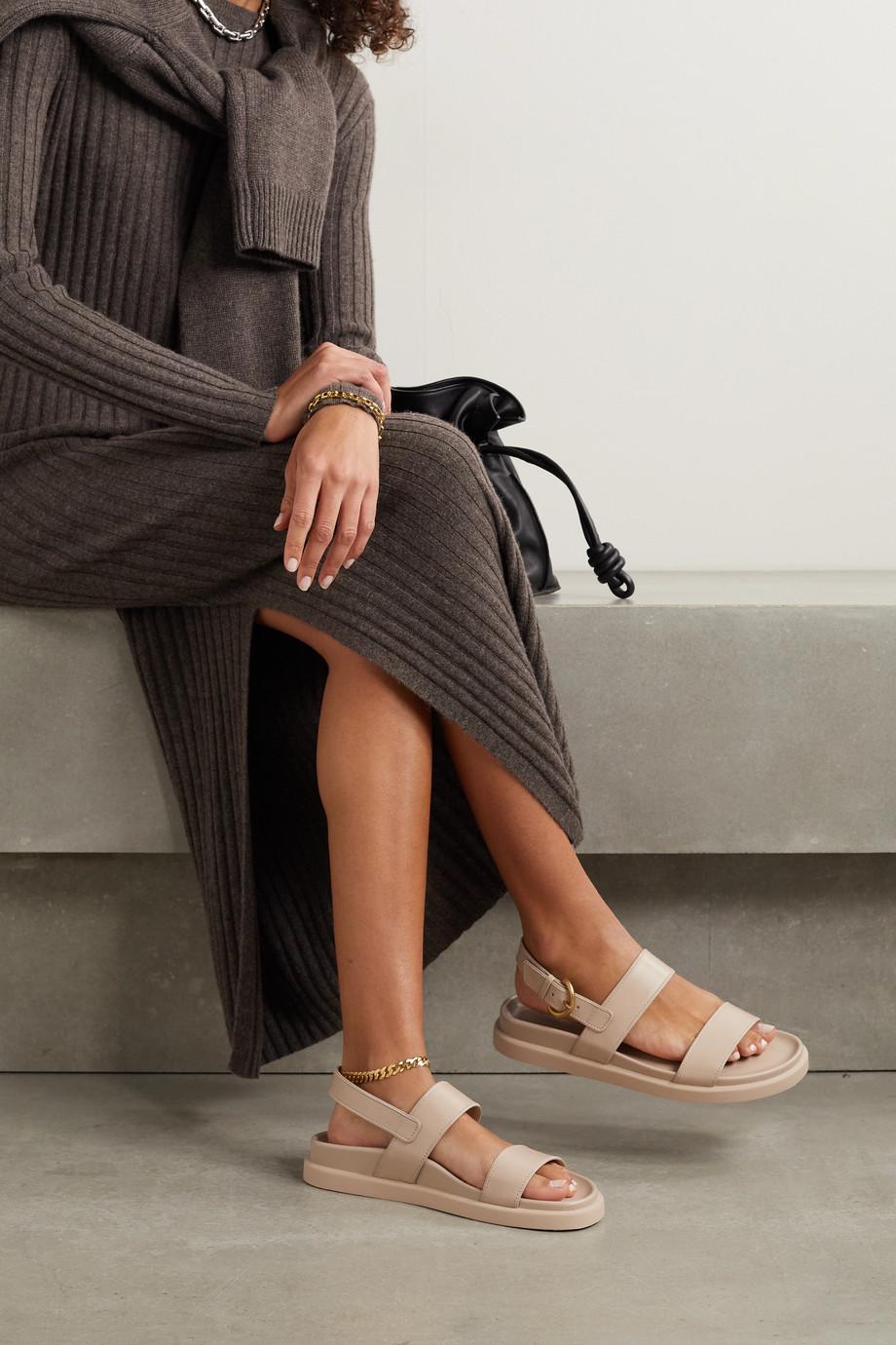 Gianvito Rossi Bilbao leather sandals