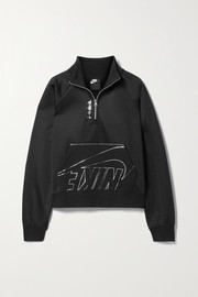 Nike Icon Clash printed jersey sweatshirt