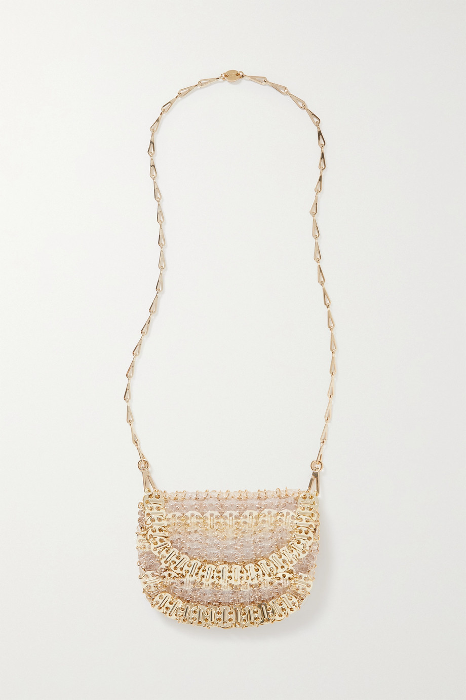 Paco Rabanne 1969 Reflection chainmail and Plexiglass shoulder bag