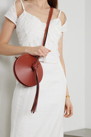 Neous Mercury tasseled leather shoulder bag