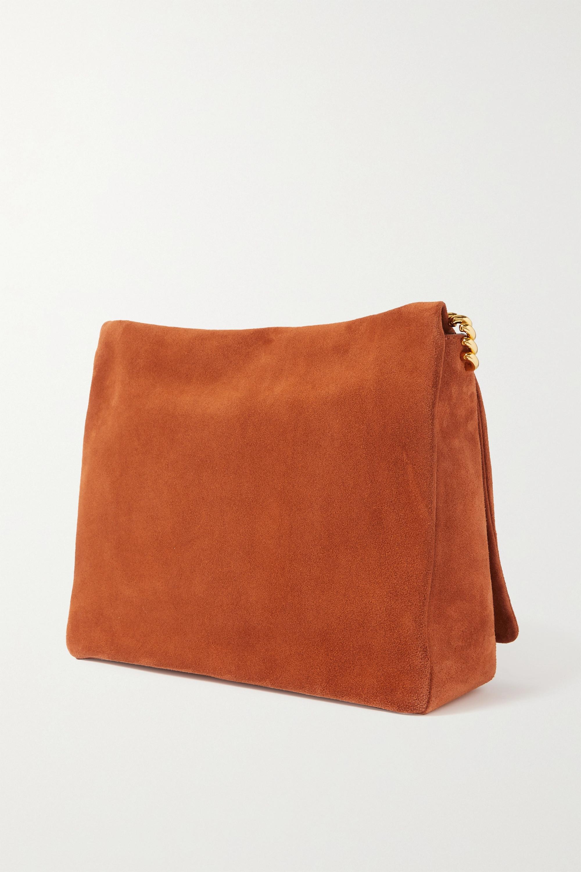 Neous Orbit suede shoulder bag