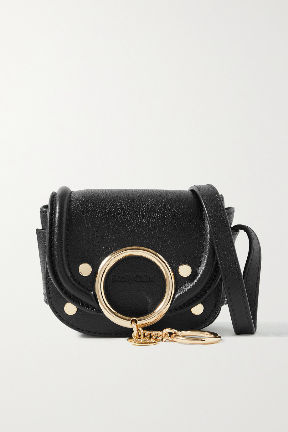 See By Chloé Mara mini embellished leather shoulder bag