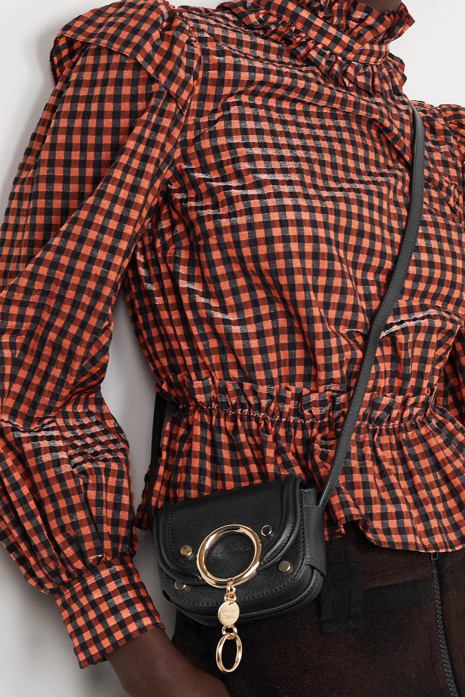 See By Chloé Mara mini embellished leather shoulder bag