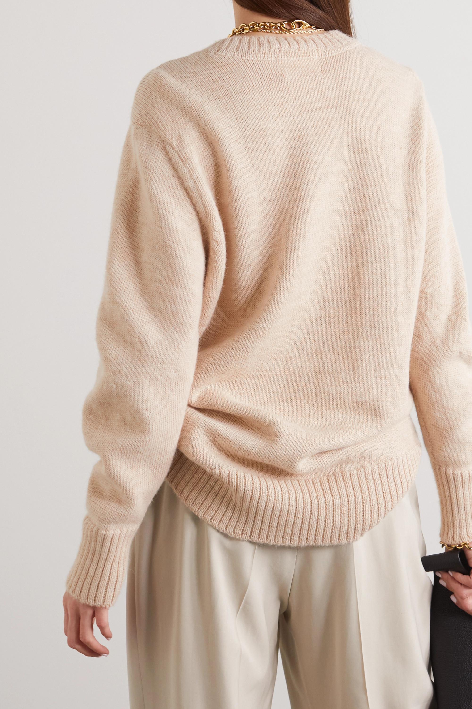 CAES + NET SUSTAIN Pullover aus einer Woll-Alpakawollmischung