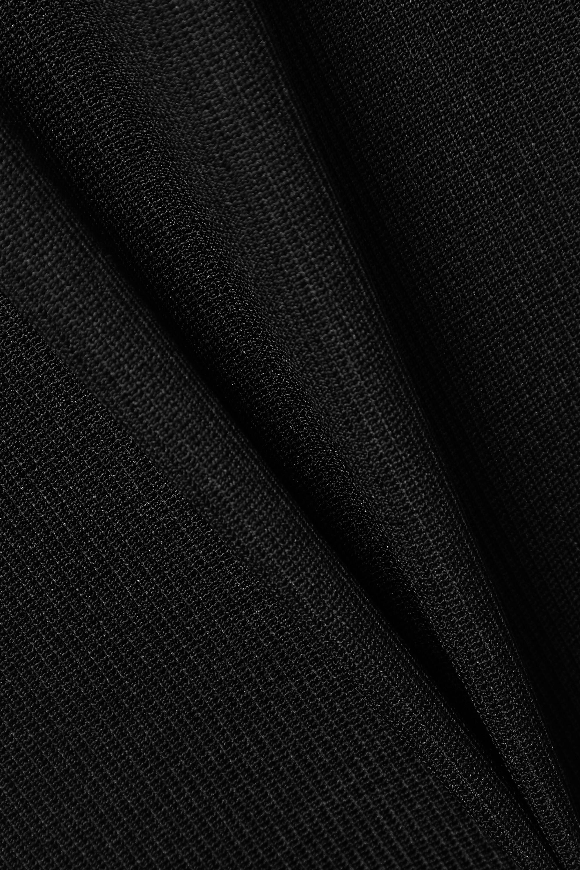 Christopher Esber Cutout ribbed stretch-knit maxi dress