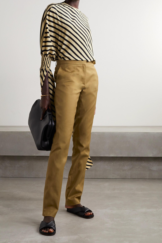 Petar Petrov Gema cotton-twill slim-leg pants