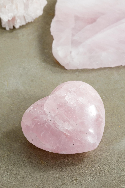 JIA JIA Rose quartz heart