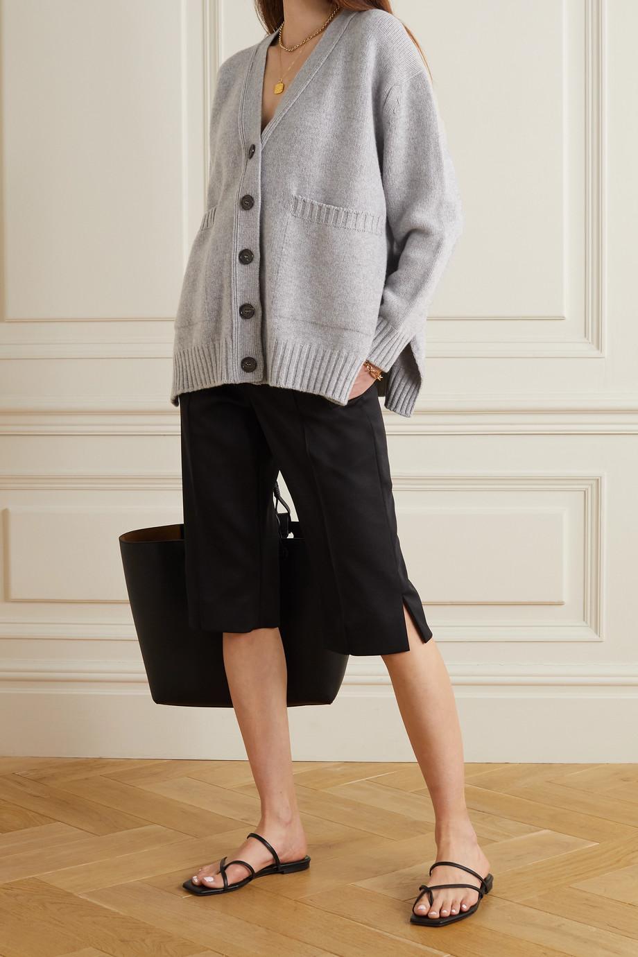 &Daughter + NET SUSTAIN Tara wool and cashmere-blend cardigan
