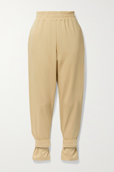 Frankie Shop - French Cotton-terry Track Pants - Camel