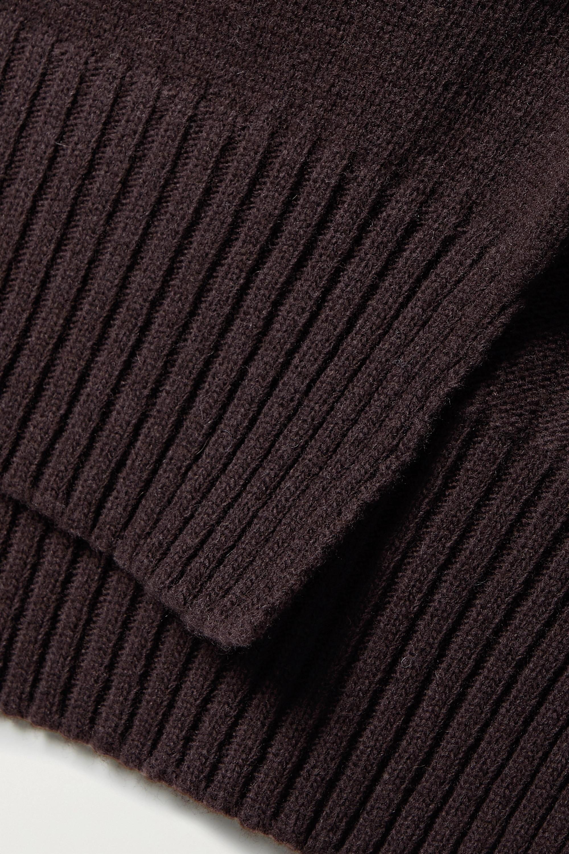 Frankie Shop Pull à col roulé en laine mélangée