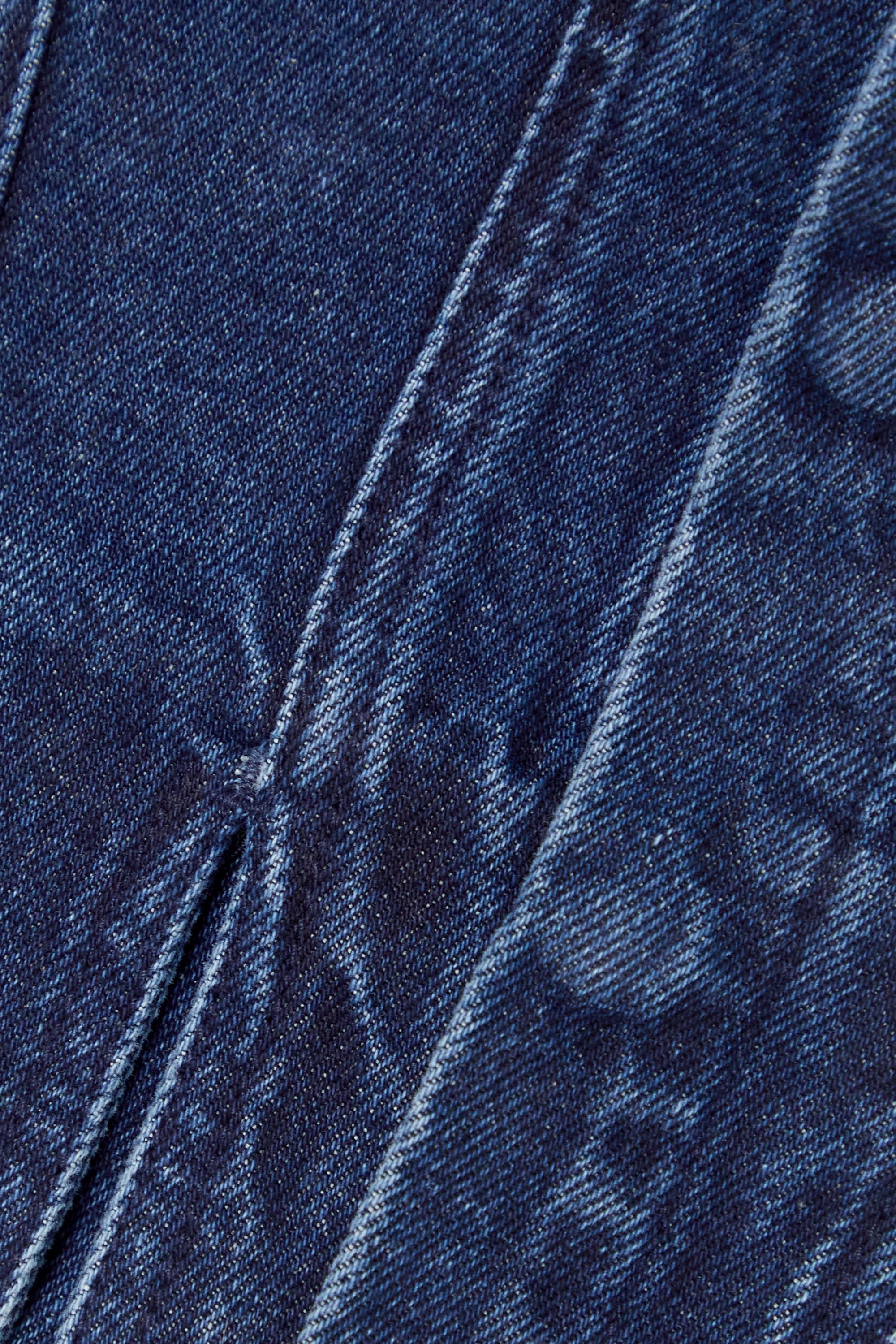 Marques' Almeida Haut façon corset à basque en jean