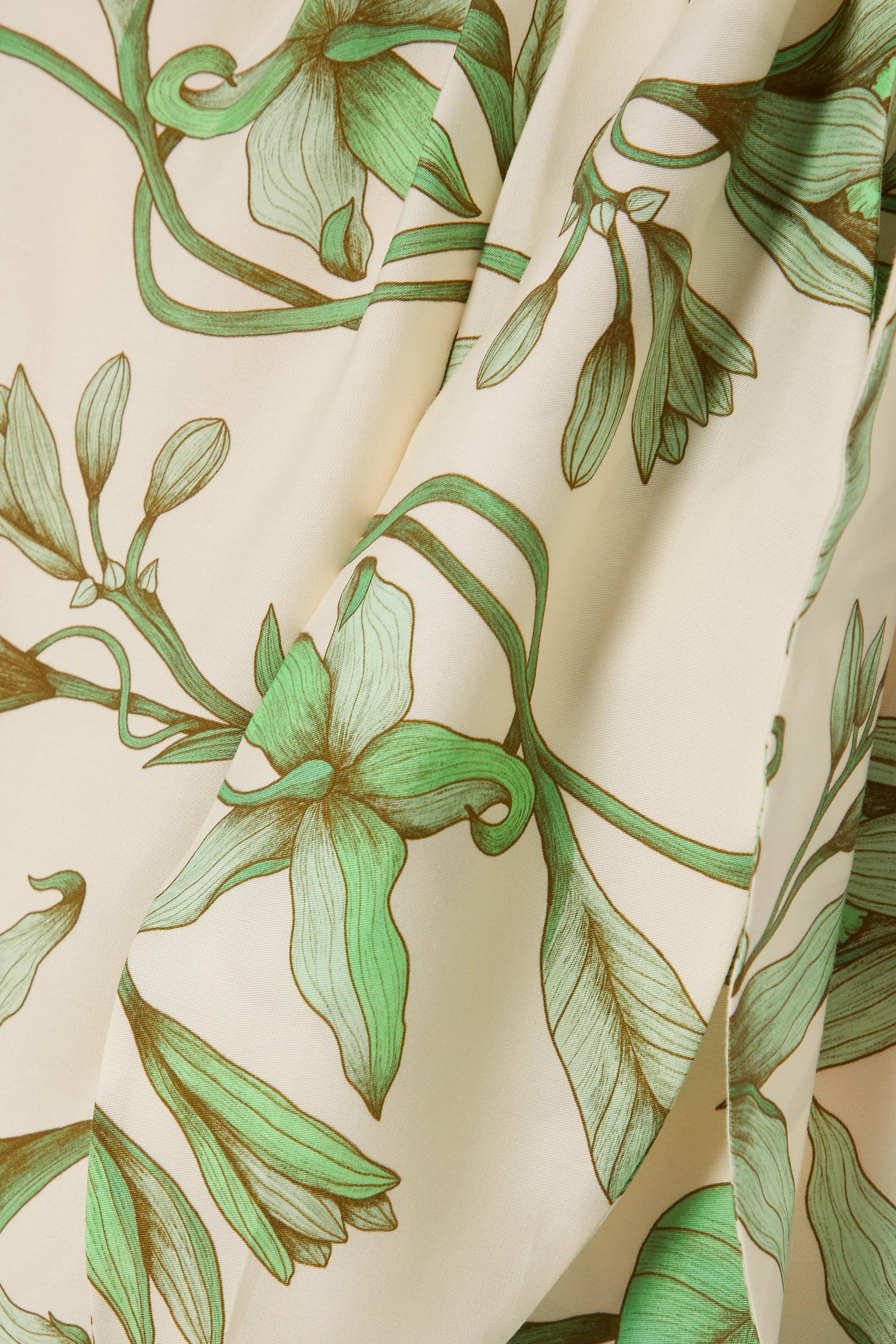 Johanna Ortiz Botanist Guide Wickelrock aus Tencel™-Twill mit Blumenprint