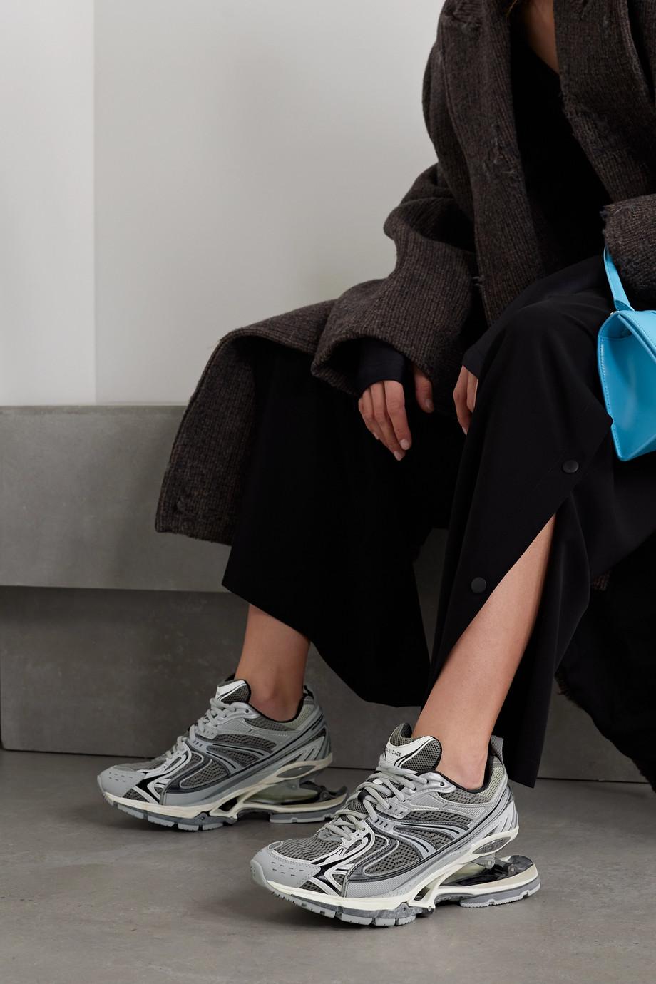 Balenciaga X-Pander Sneakers aus Mesh und Gummi
