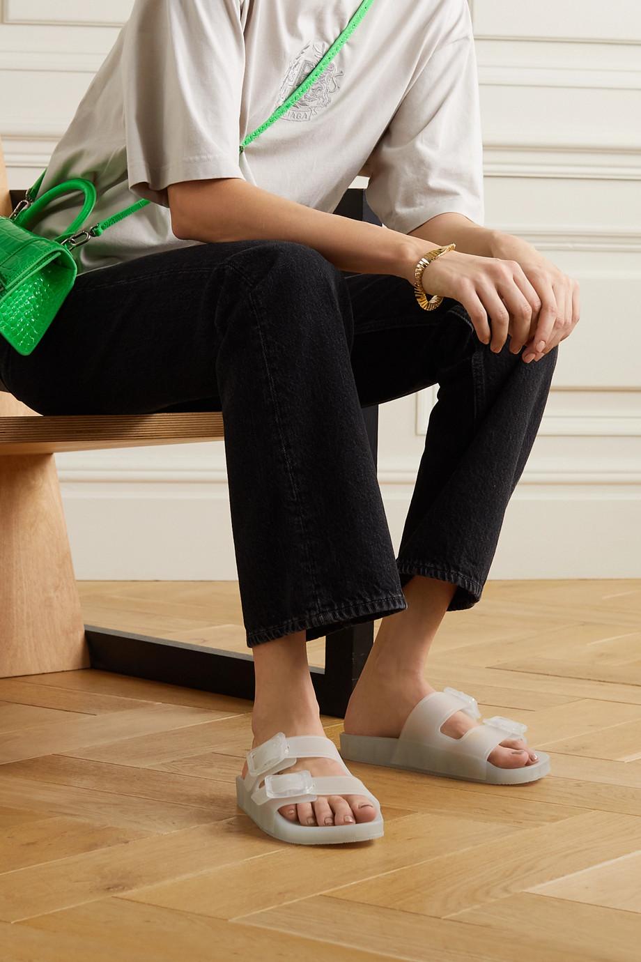 Balenciaga Mallorca Pantoletten aus Gummi
