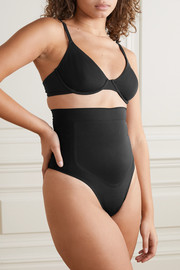 SKIMS Contour Bonded High Waisted thong - Onyx