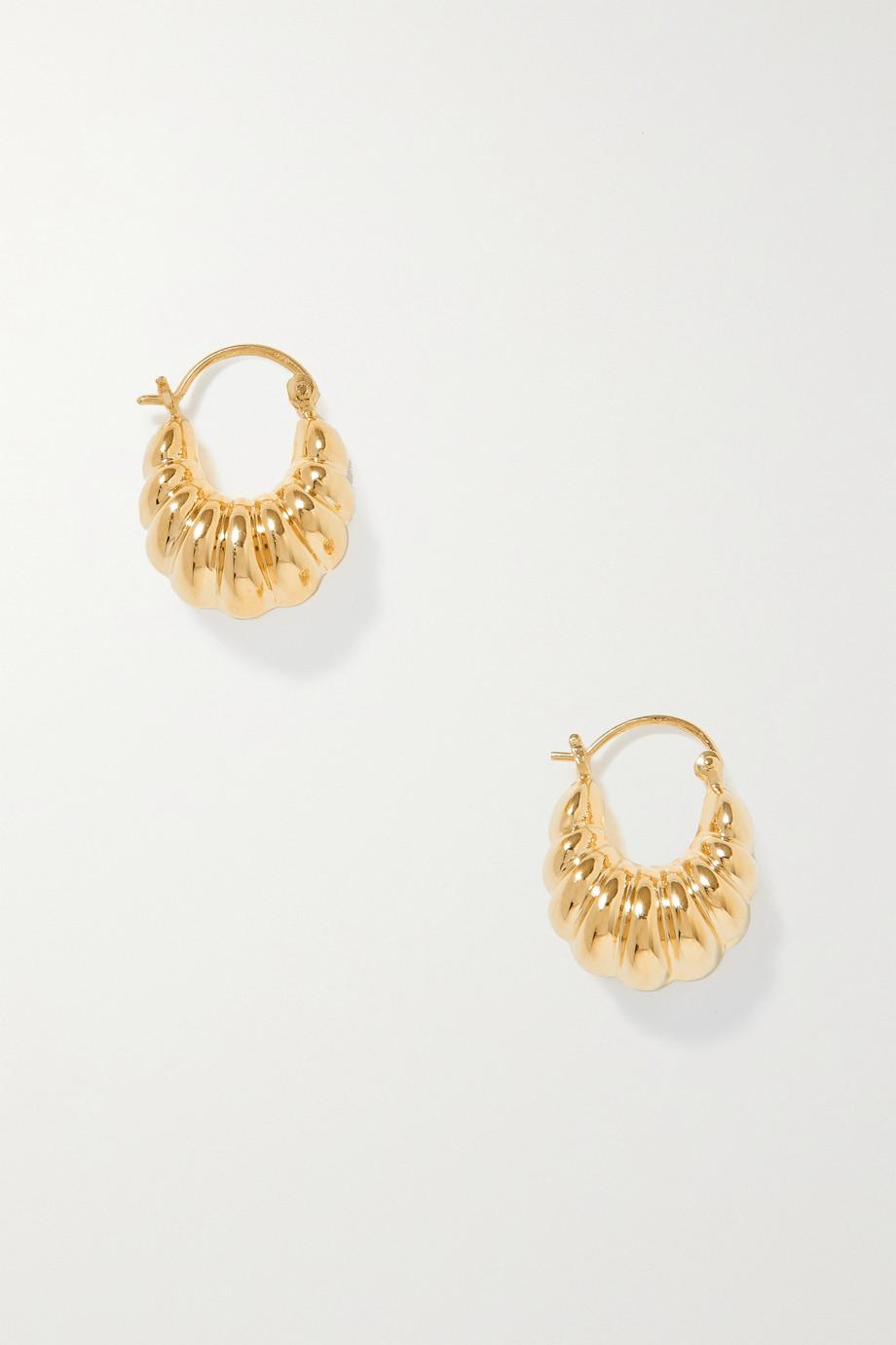 Sophie Buhai Boucles d'oreilles dorées