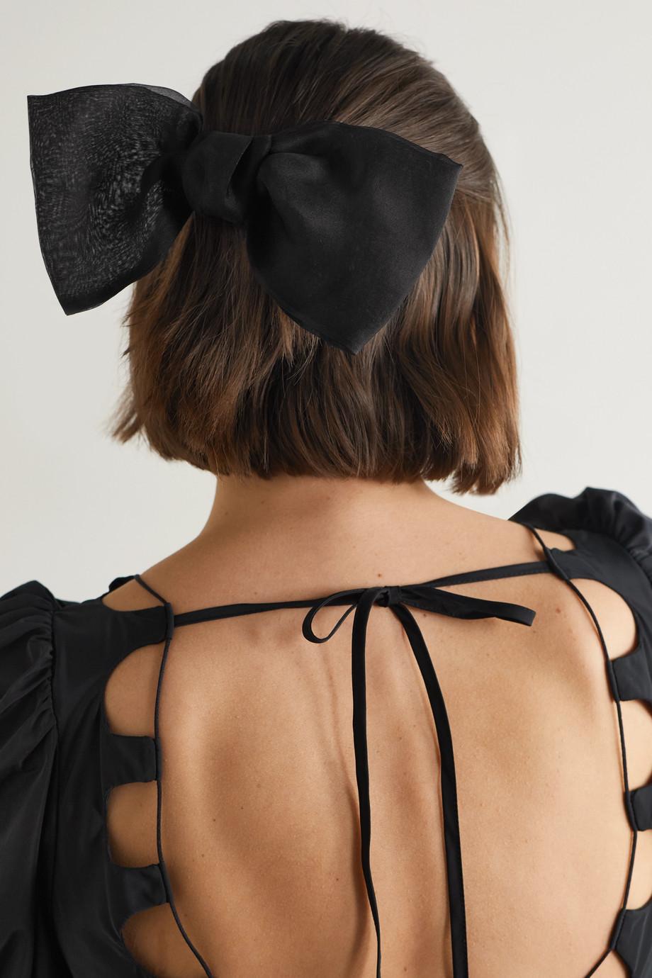 Jennifer Behr Silk-organza hair clip