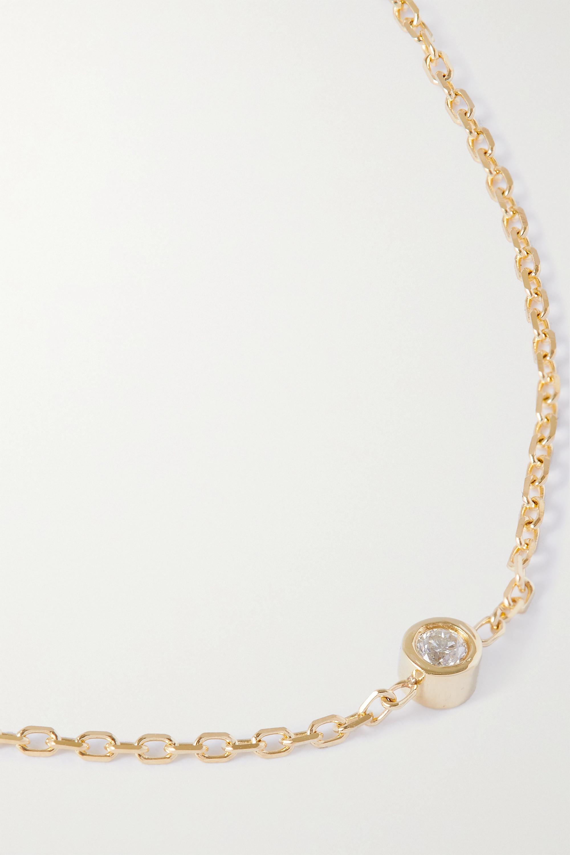 STONE AND STRAND Gold diamond bracelet