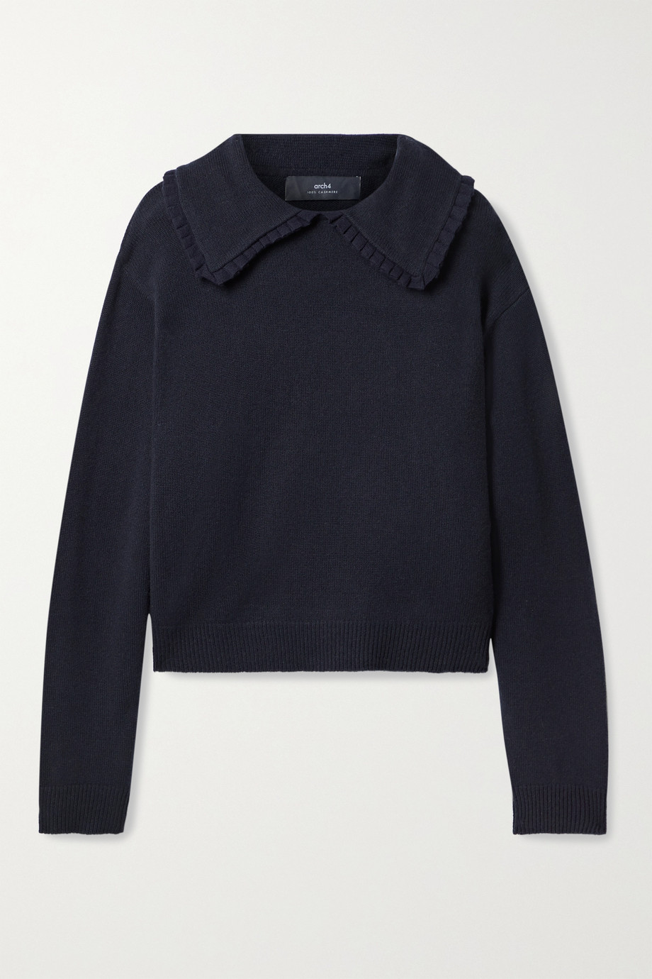 Arch4 Walton ruffled cashmere sweater