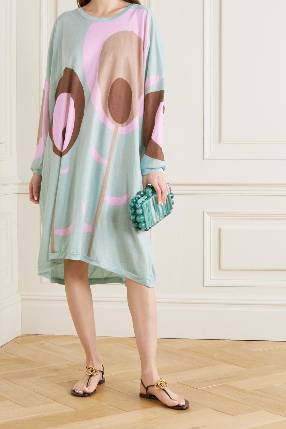 Yvonne S Kleid aus Baumwoll-Jersey mit Print
