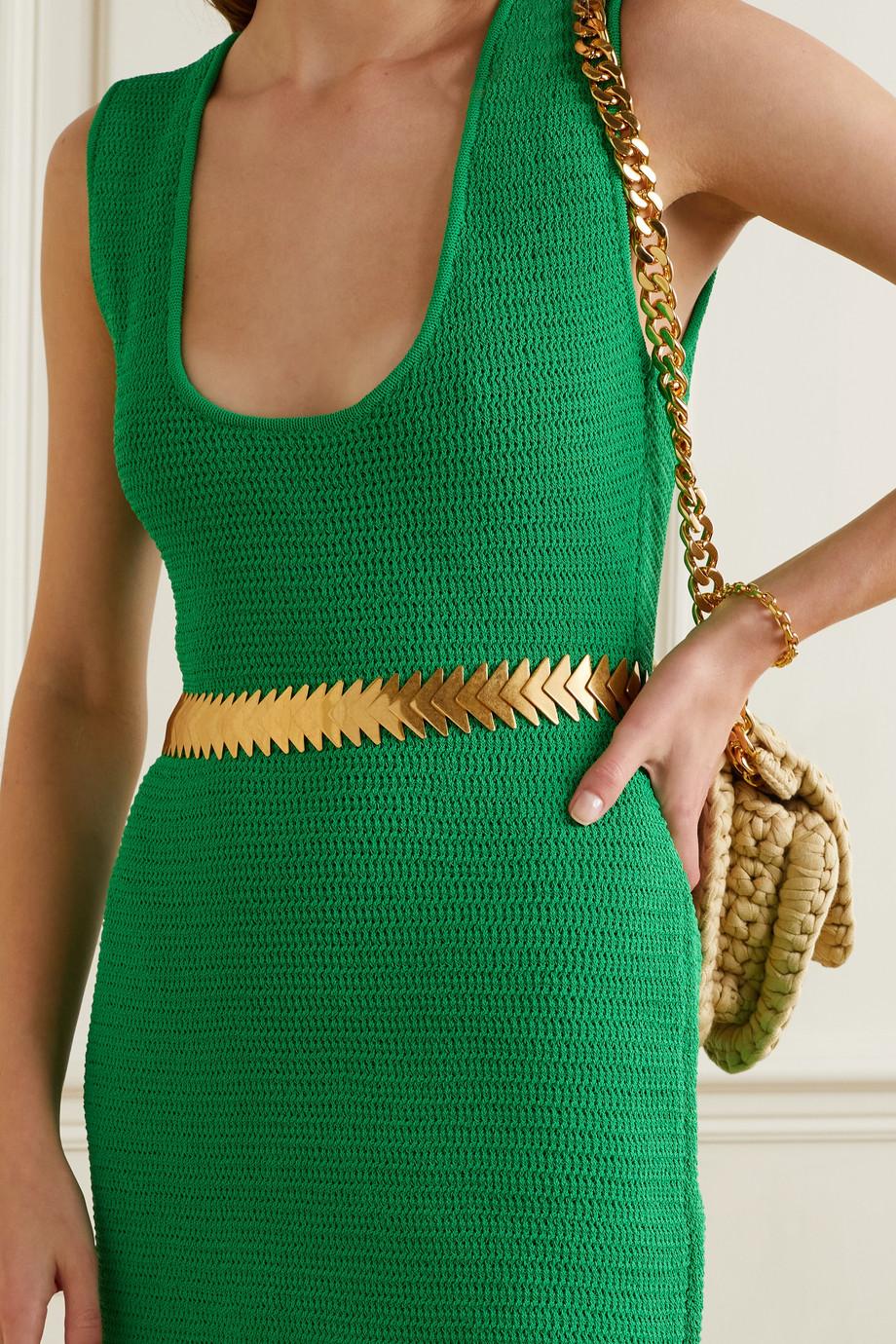 Bottega Veneta Gold-tone belt