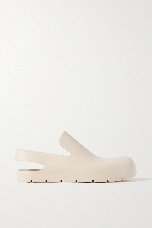 Bottega Veneta Puddle Slingback-Schuhe aus Gummi