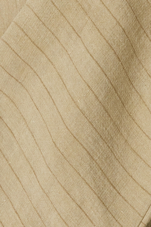 Cortana + NET SUSTAIN Paja striped linen jacket
