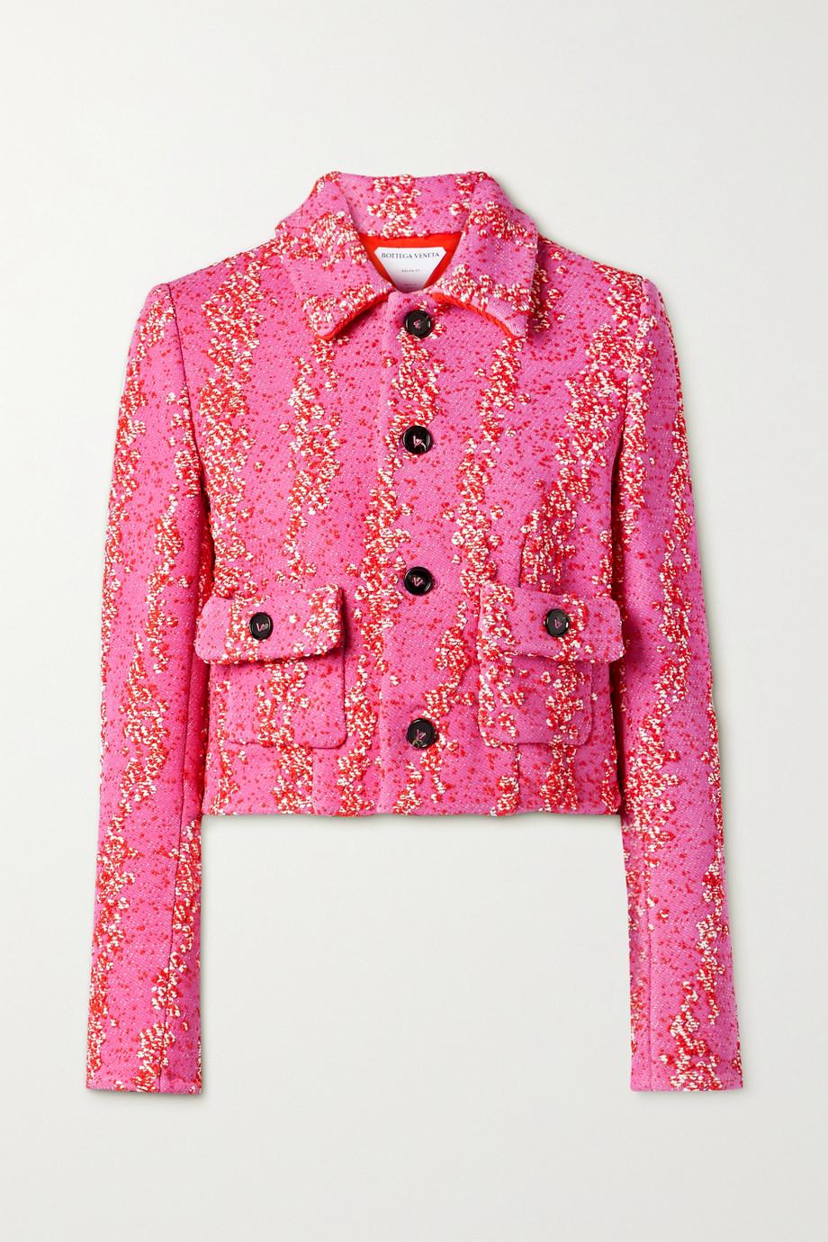 Bottega Veneta Cropped bouclé jacket