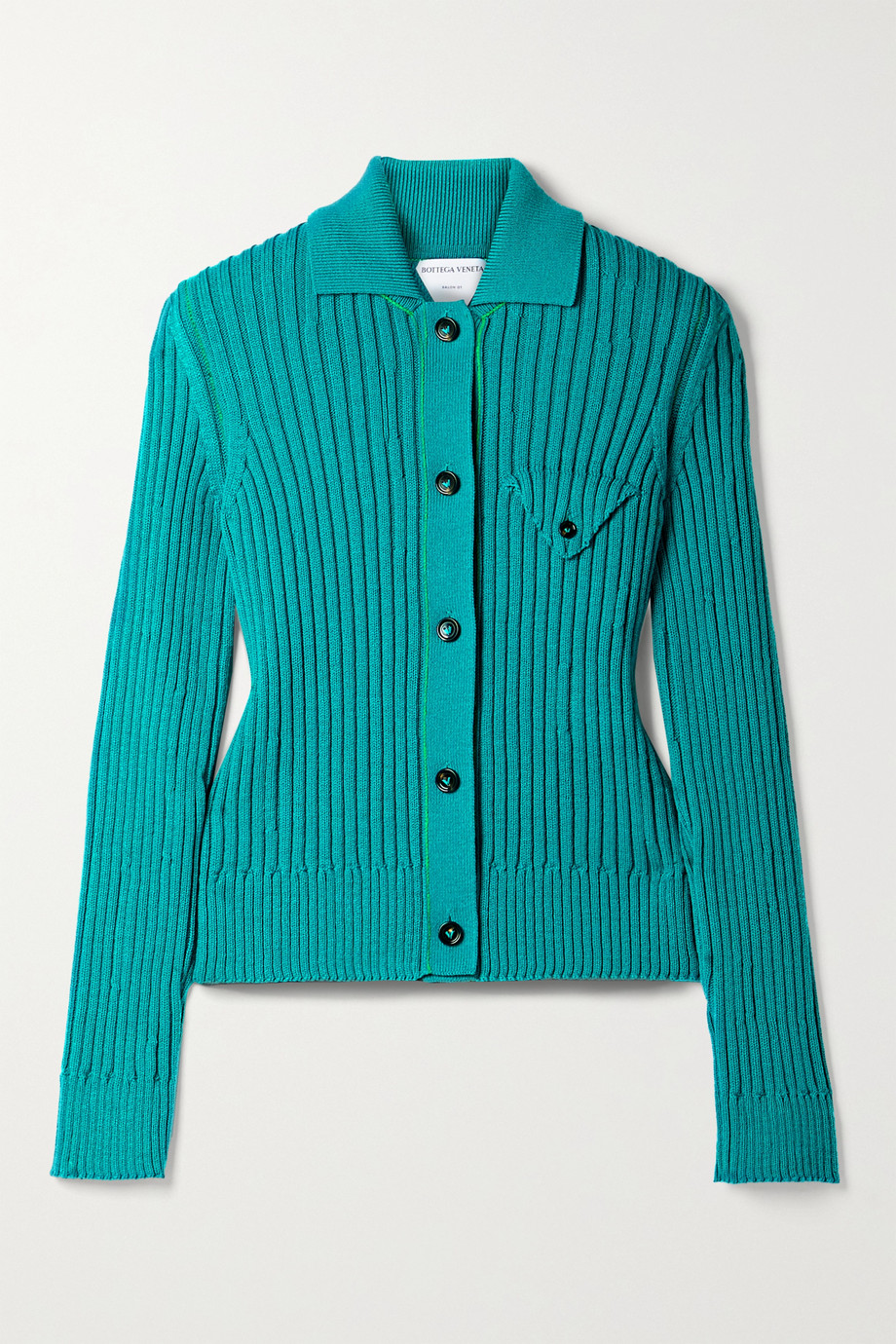 Bottega Veneta Ribbed wool cardigan