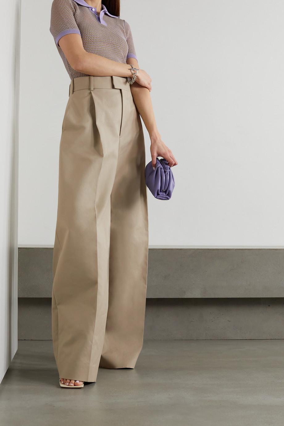 Bottega Veneta Cotton wide-leg pants