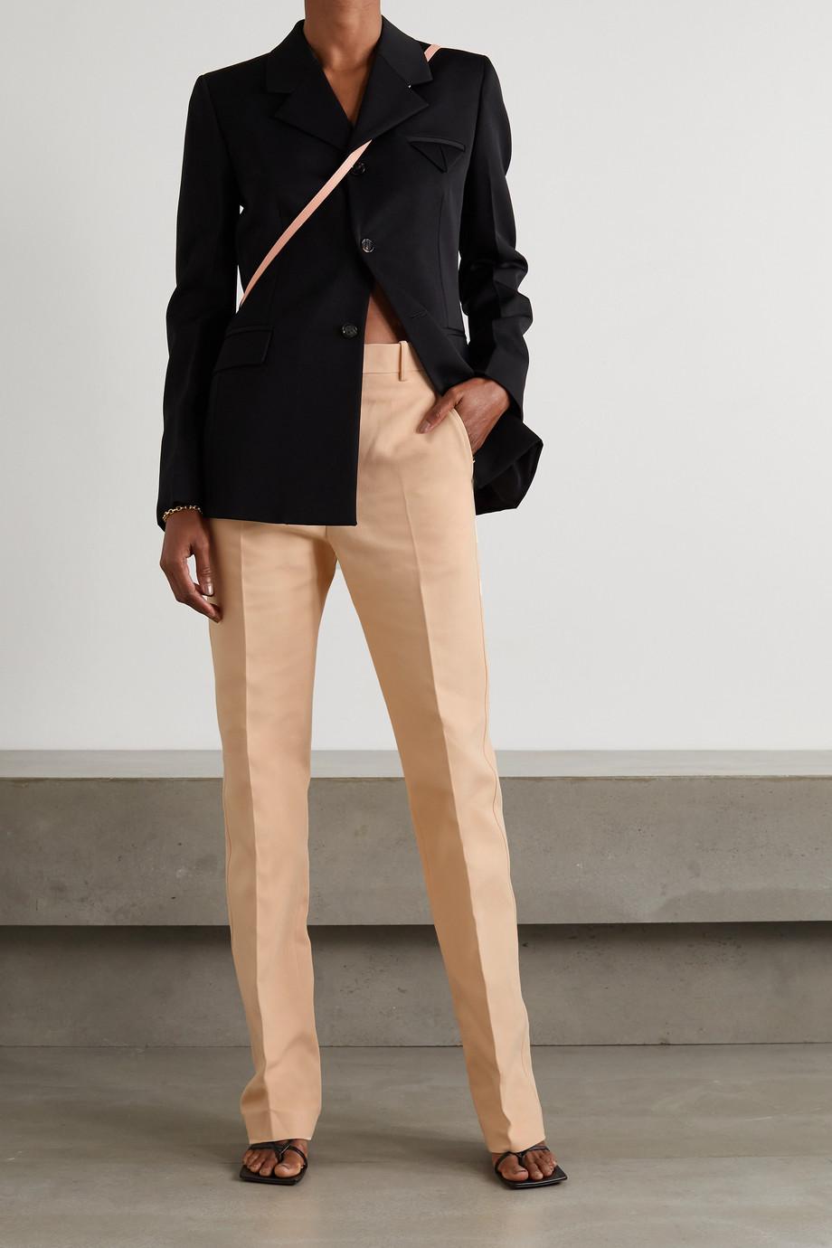 Bottega Veneta Hose mit geradem Bein aus Baumwoll-Canvas