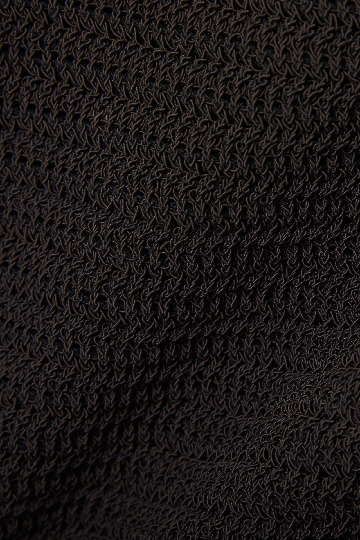 Bottega Veneta Minirock aus einer gehäkelten Baumwollmischung