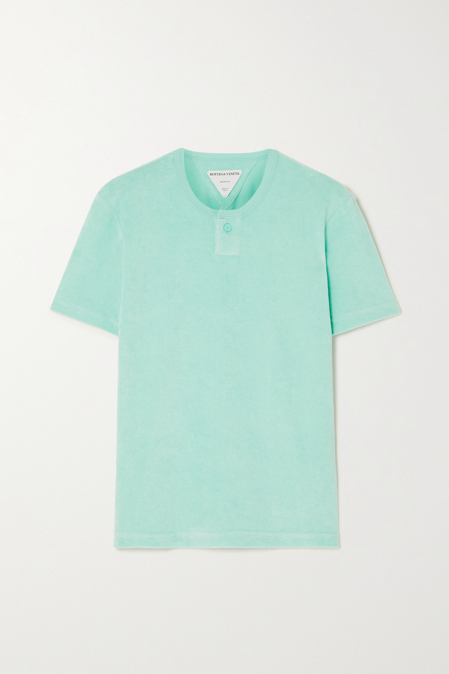 Bottega Veneta Cotton-blend terry T-shirt