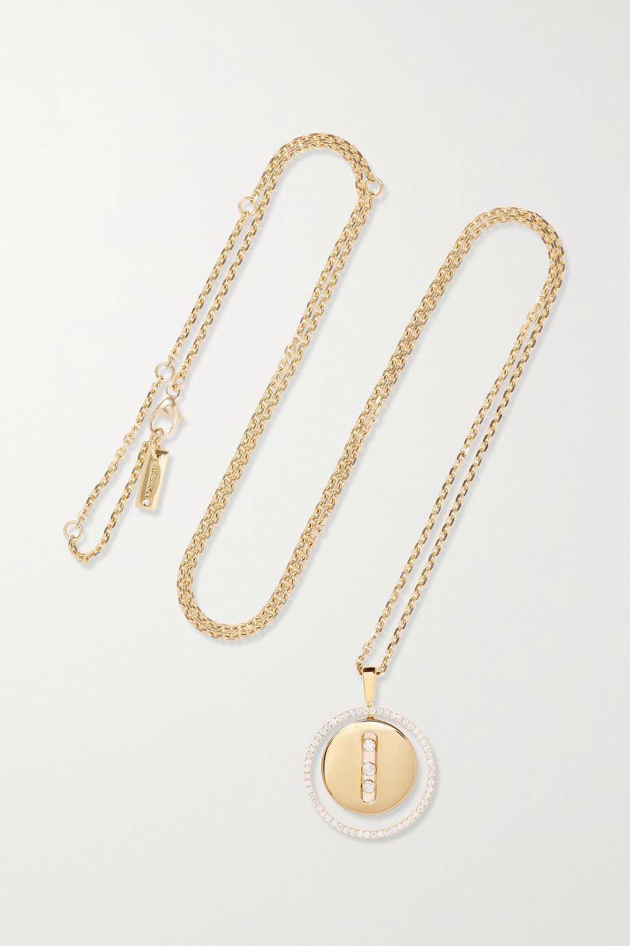 Messika Collier en or 18 carats et diamants Lucky Move