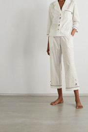 Morgan Lane Kingsley polka-dot cotton pajama set