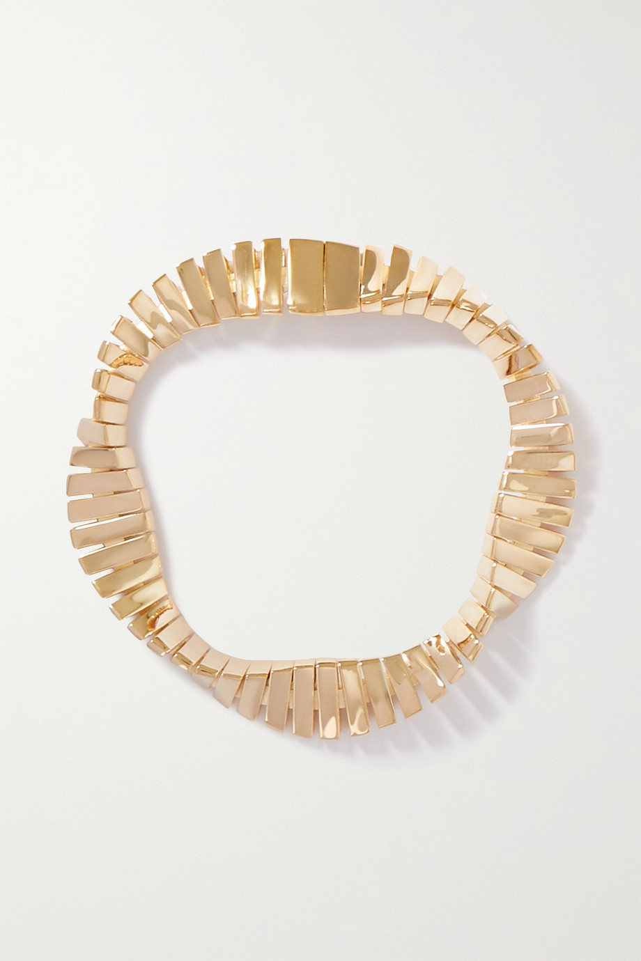 Bottega Veneta Twist gold-plated bracelet