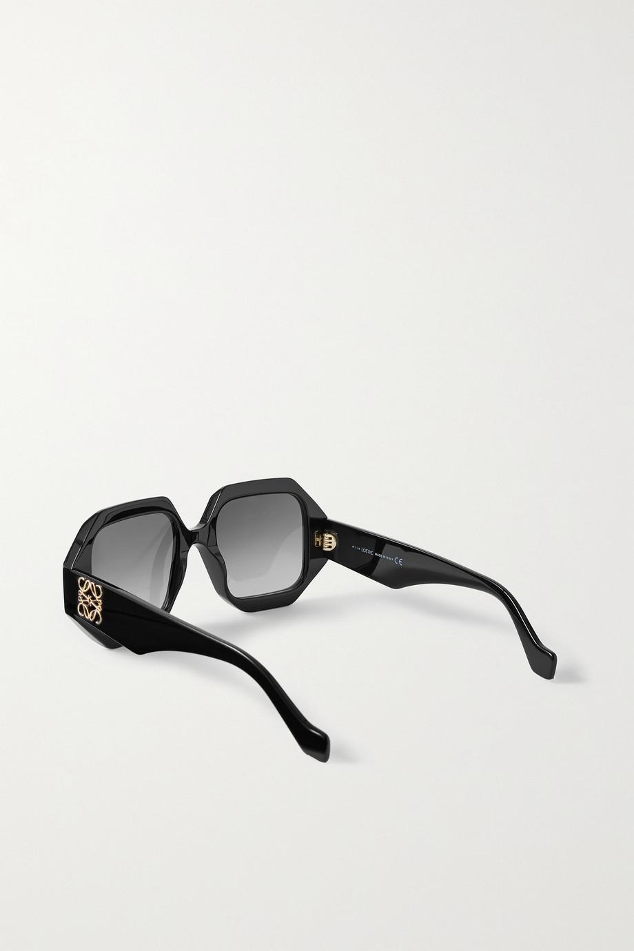Loewe Sonnenbrille mit achteckigem Rahmen aus Azetat