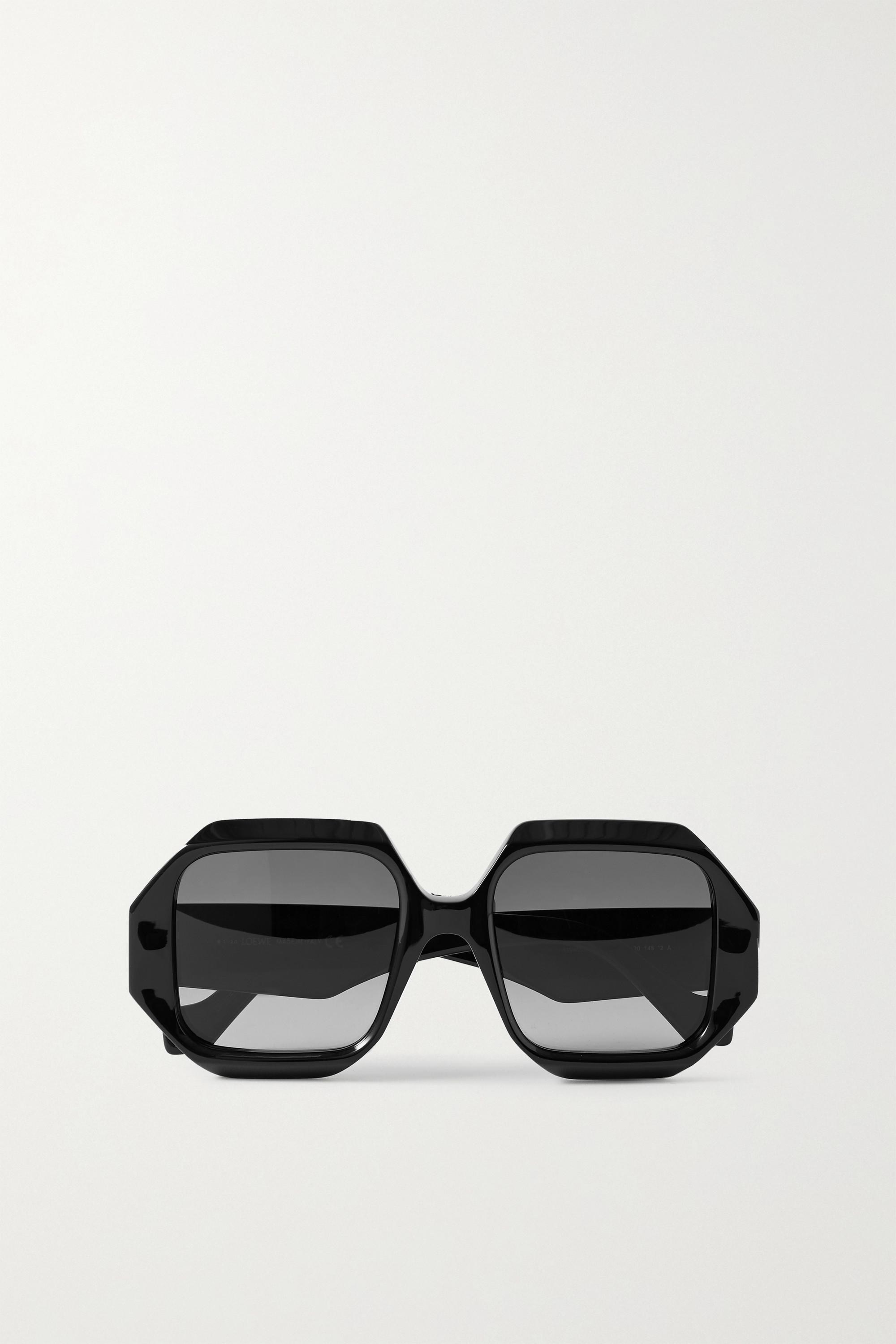 Loewe Octagon-frame acetate sunglasses
