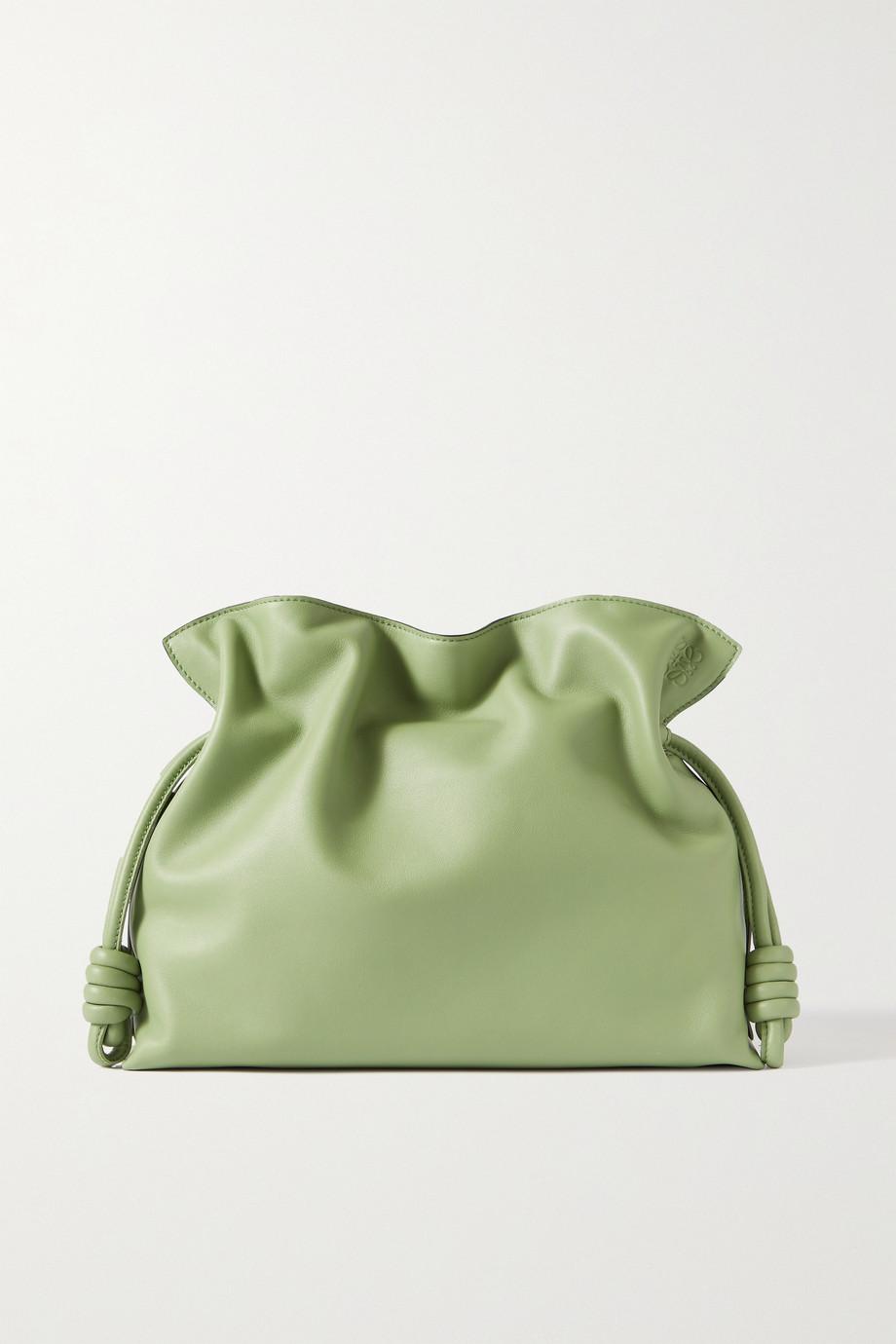Loewe Flamenco leather clutch