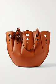 Loewe Shell medium cutout leather tote