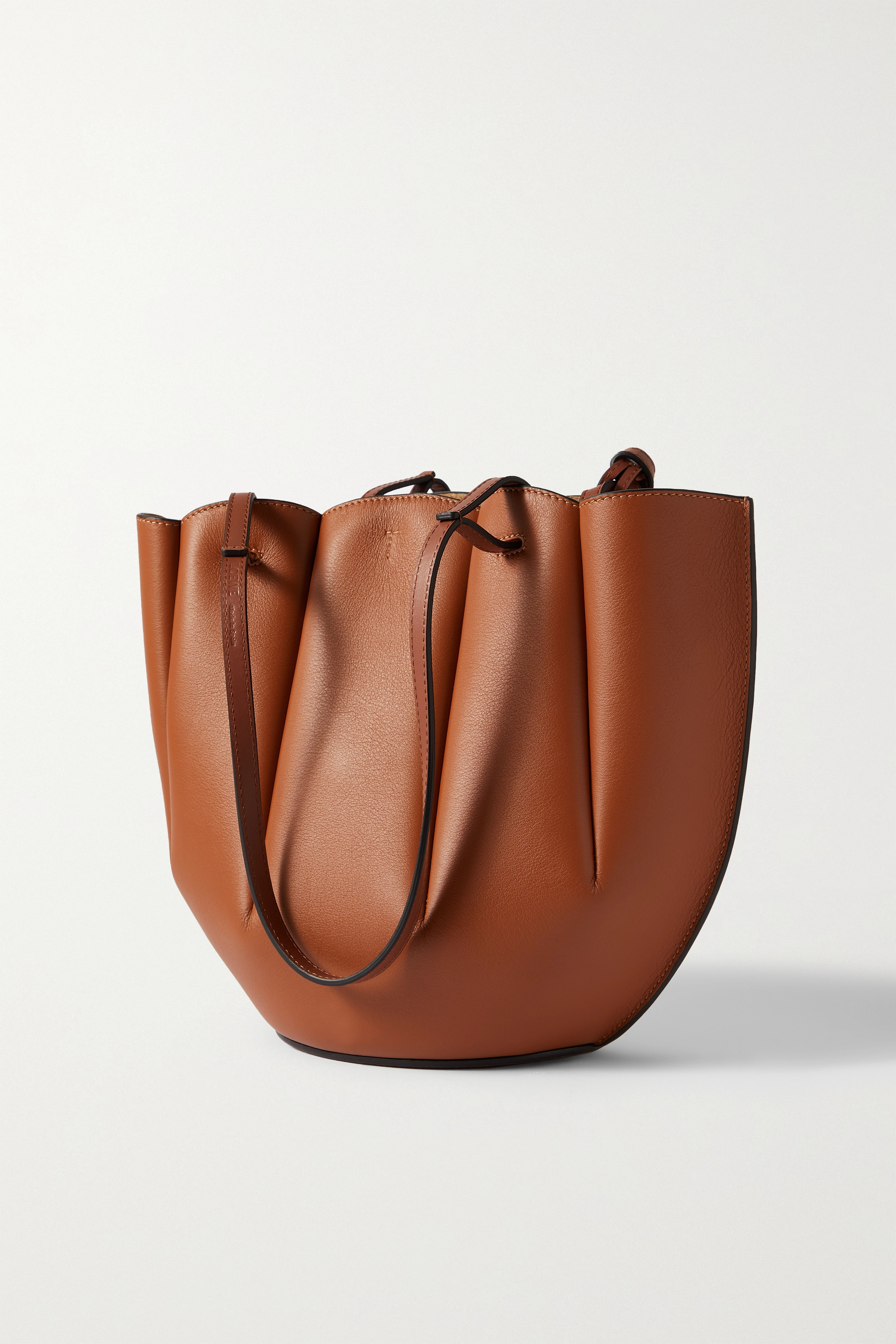 Loewe Shell small leather tote