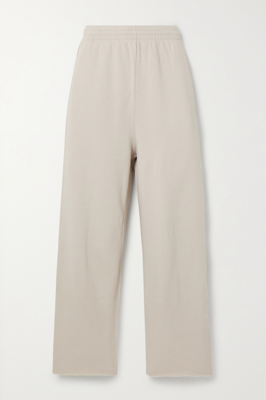 Balenciaga Pantalon de survêtement raccourci en jersey de coton