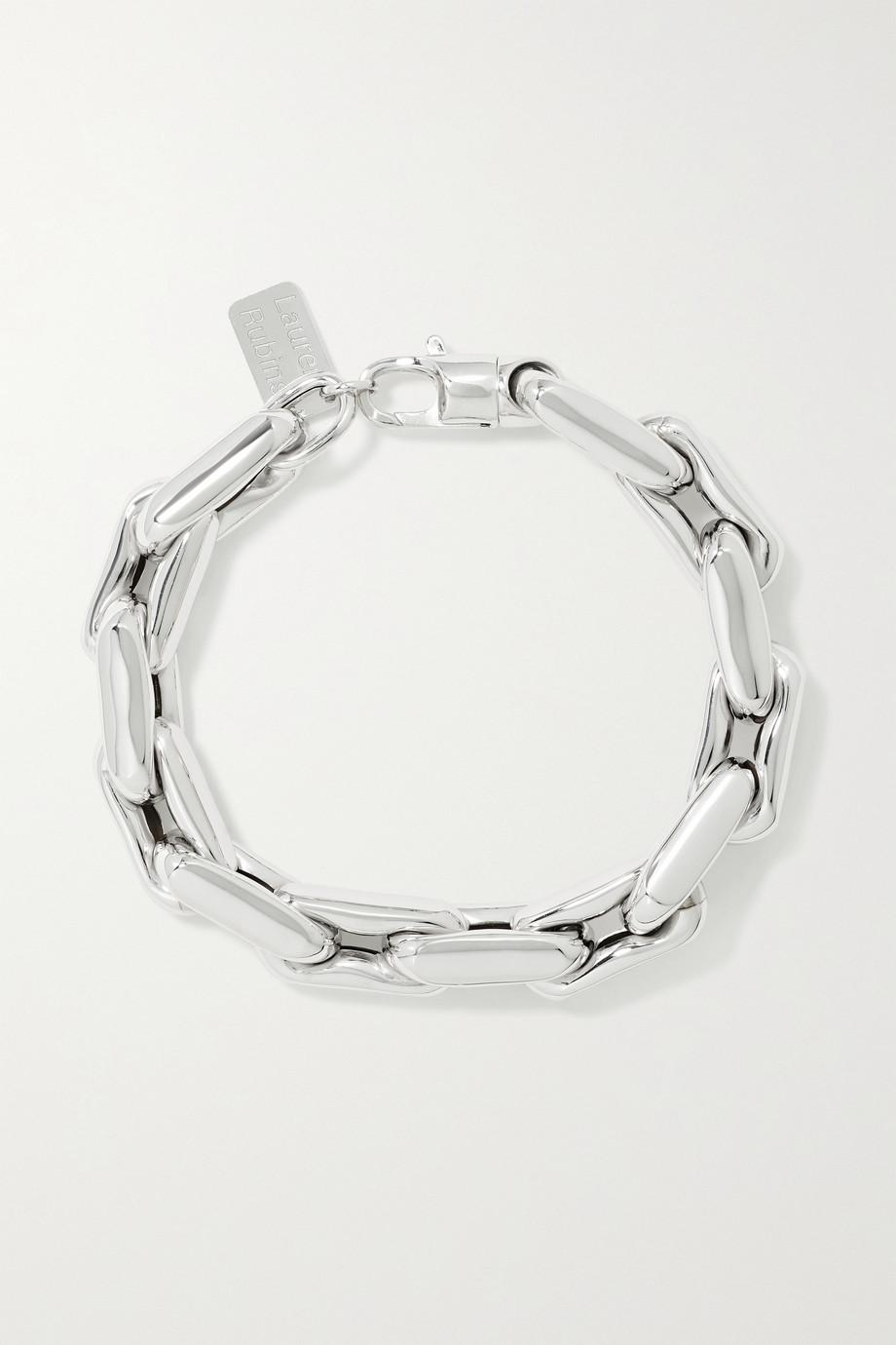 Lauren Rubinski Bracelet en or blanc 14 carats (585/1000) Medium