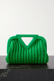 Bottega Veneta Point medium crocheted leather tote