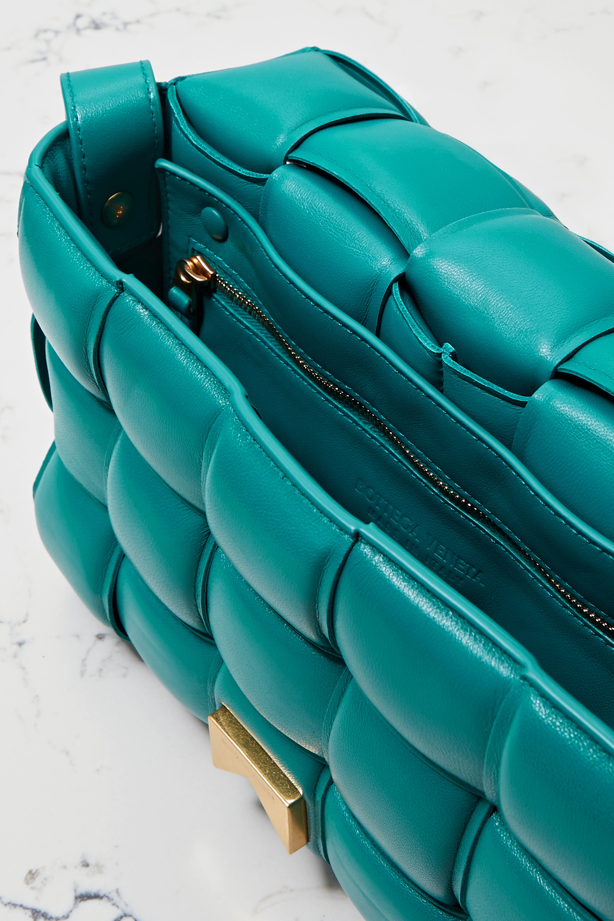 Bottega Veneta Casette padded intrecciato leather shoulder bag