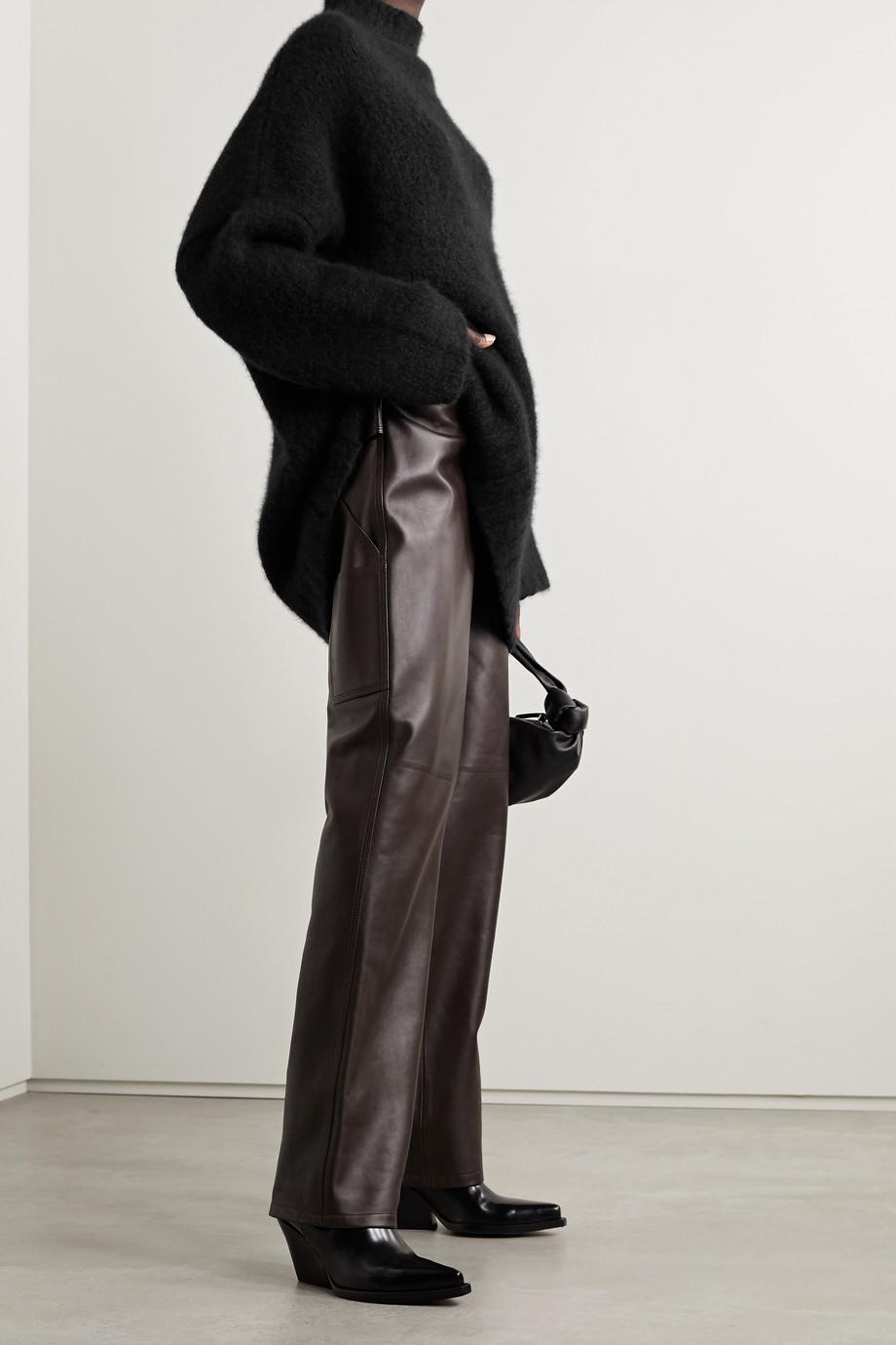 Petar Petrov Kady 大廓形羊绒真丝混纺毛衣