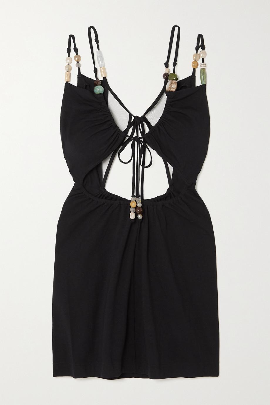Loewe Mini-robe en jersey stretch à ornements