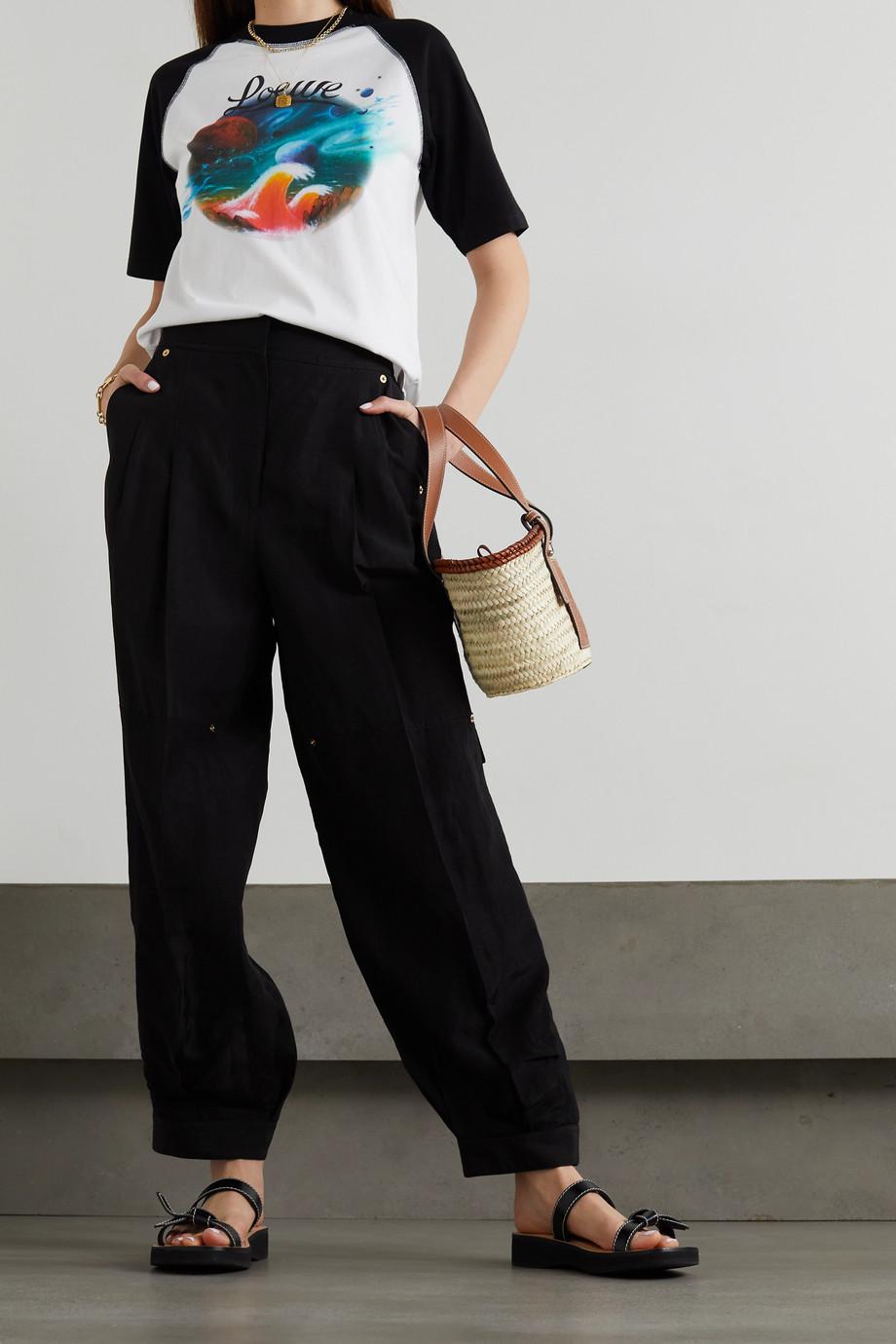 Loewe + Paula's Ibiza printed cotton-jersey T-shirt