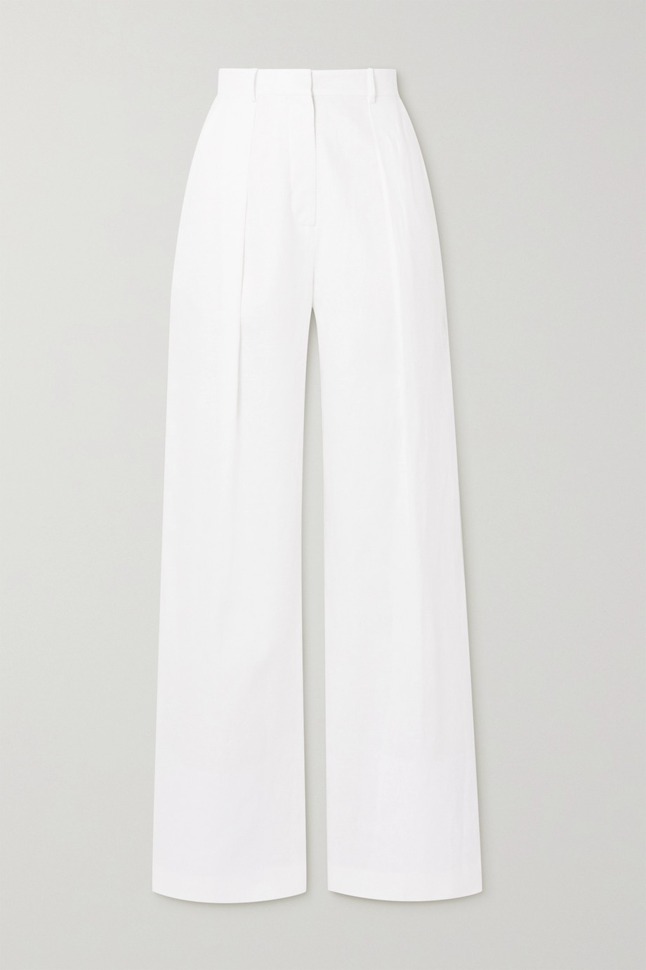 Michael Lo Sordo Linen wide-leg pants