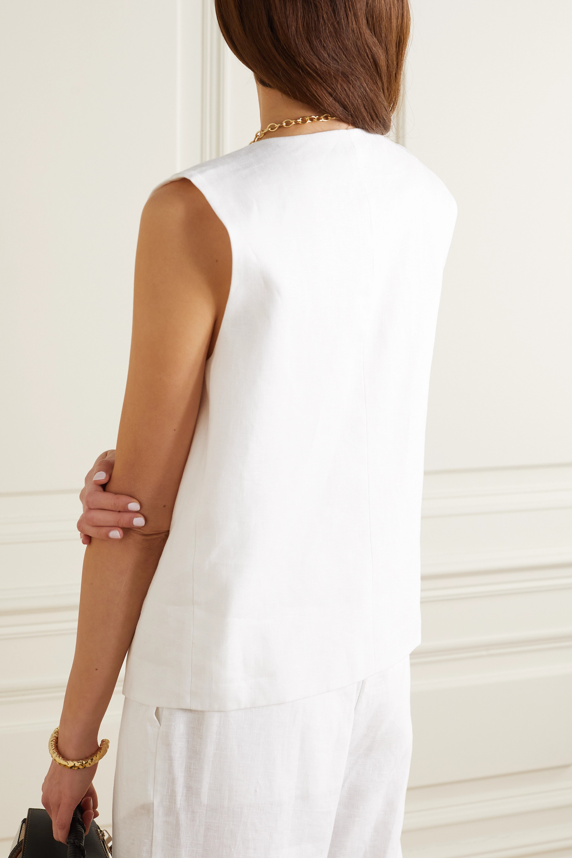 Michael Lo Sordo Linen vest
